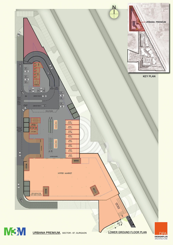 M3m M3m Urbana Premium Layout Plan Sector 67 Gurgaon